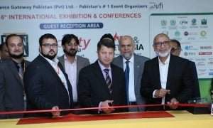 16th ITCN 2016- International IT & Telecom Show Inaugurated by Syed Ismail Shah, Chairman PTA & Syed Arif ullah Hussaini, Commander Fleet Pakistan Navy