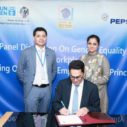 PepsiCo Pakistan signs Women's Empowerment Principles