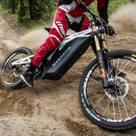Neematic FR/1 ebike – a bike or a motorbike?