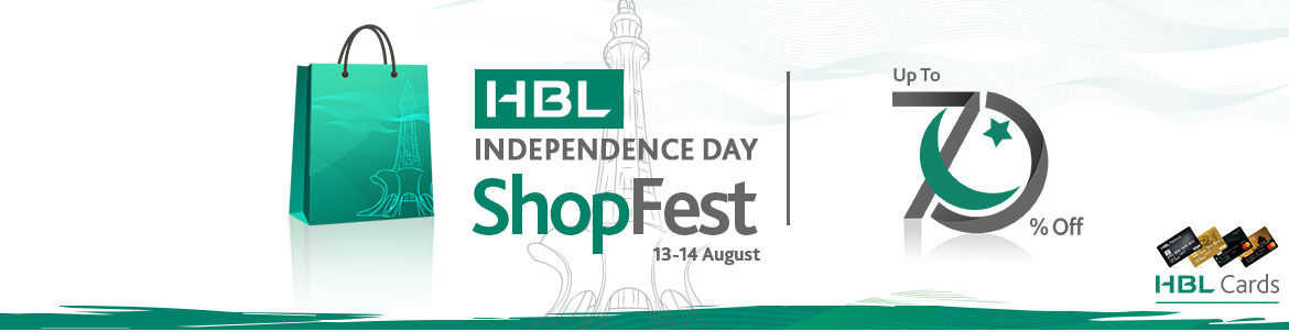 HBL and Daraz.pk salute the nation with discounts up to 70%