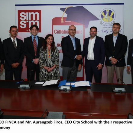 """FINCA joins hands with The City School for fee payment via """"mobile wallets"""""""