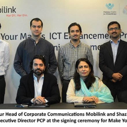 Mobilink and Pakistan Centre for Philanthropy partner Support Education