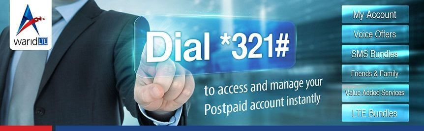 Pakistan's First Postpaid Menu over USSD Launched by Warid Telecom