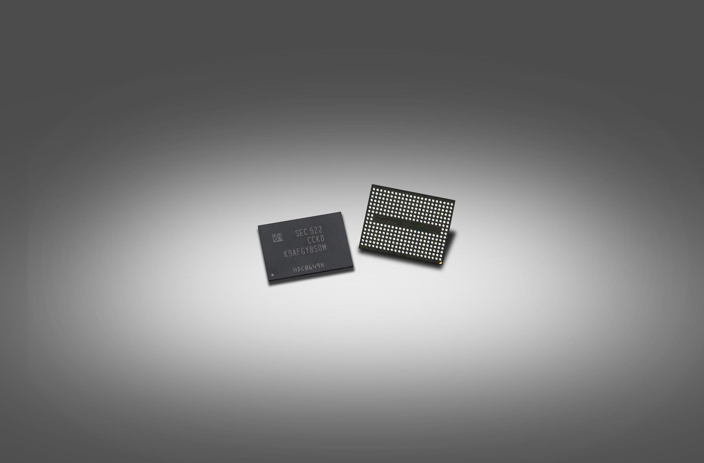 Samsung Electronics Begins Mass Producing Industry First 256 Gigabit