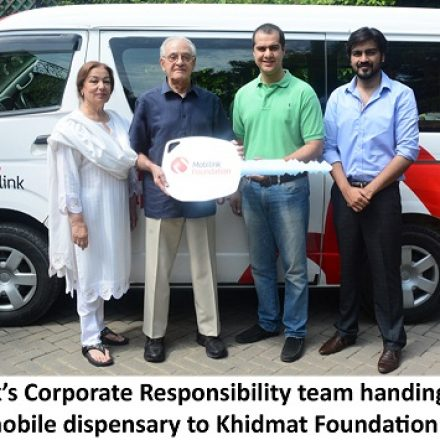 Mobilink Donates State-of-the-Art Mobile Dispensary Khidmat Foundation