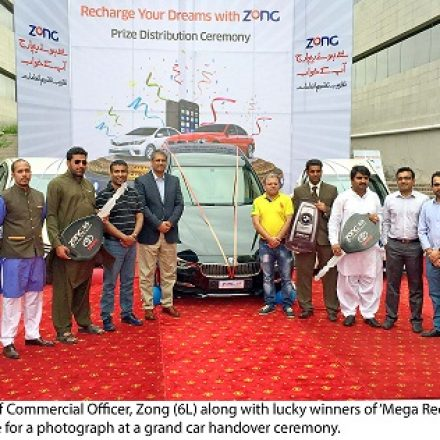 Zong hands over, a brand new BMW & two Toyota Corolla cars