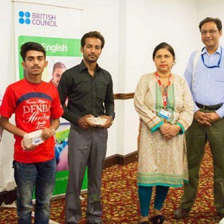 Ufone and British Council award UEnglish Winners