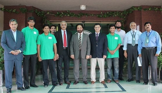 PTCL supporting creative innovation of NUST students