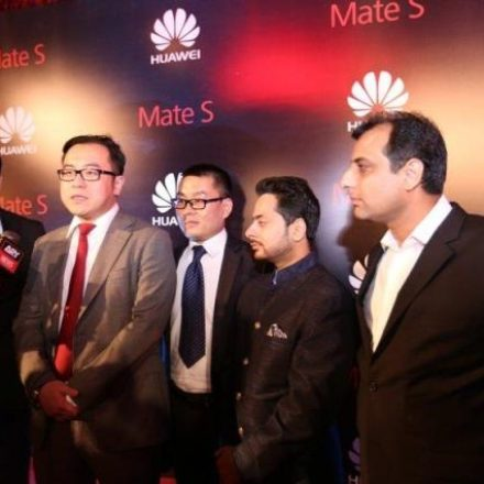 Glamorous Launch of Huawei Mate S shines Dubai
