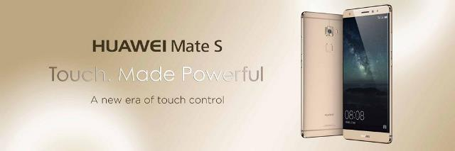 Huawei Mate S designed with a Touch of Glam and Sizzling Style