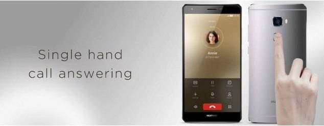 Huawei Mate S Brings Unconventional Ways of Controlling