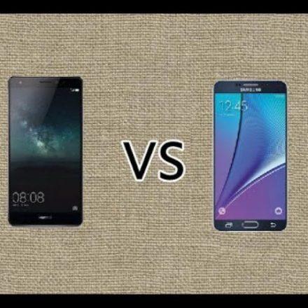 Huawei Mate S & Samsung Note 5-A Thorough Comparison