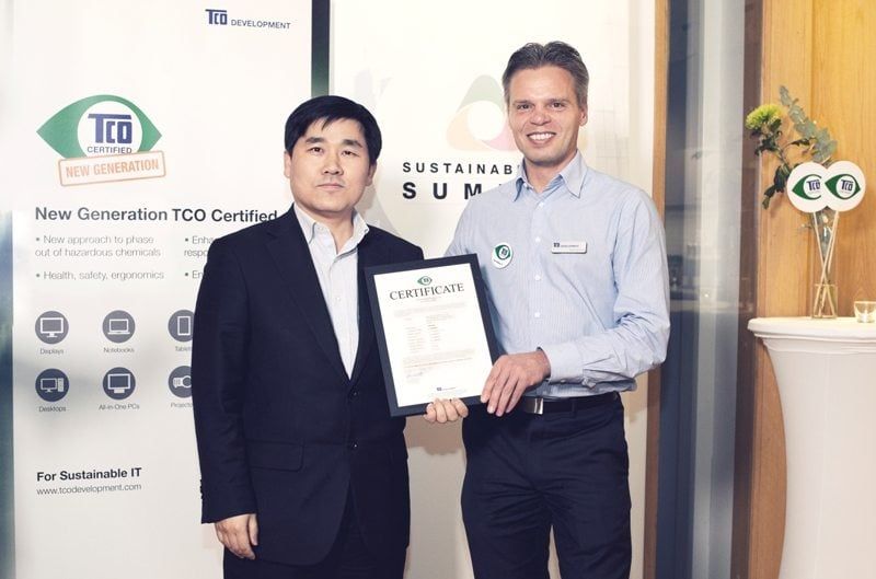Samsung Electronics Achieves TCO Certified Display 7.0 Recognition