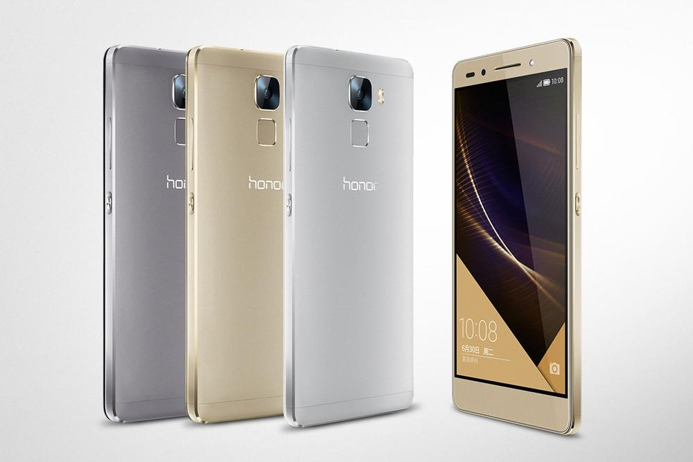 Honor 7 Launched by Huawei, with an enhanced fingerprint scanner