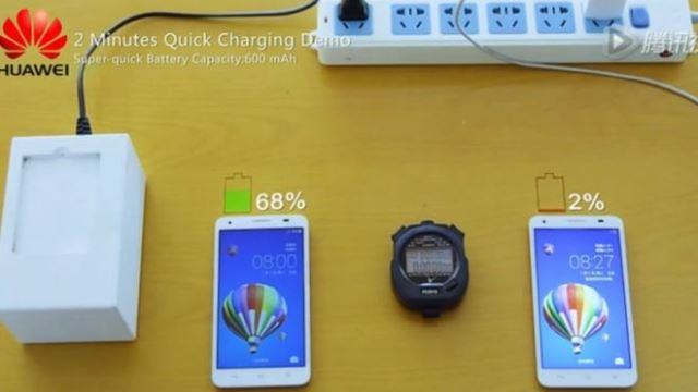Huawei's reveals fastest charging batteries an event in Japan