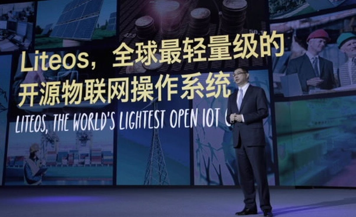 Huawei has an Operating System Solution for IoT Technology