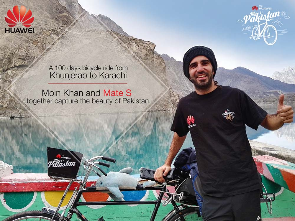 """This Saturday """"My Huawei My Pakistan"""" campaign Lahore to Karachi"""