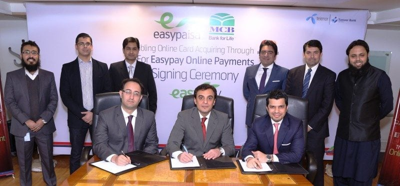 Easypay offers Credit and Debit card to E-Commerce Merchants