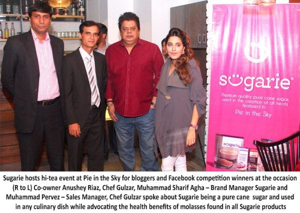 Sugarie Hosts Event at Pie in the Sky for Bloggers Facebook Competition