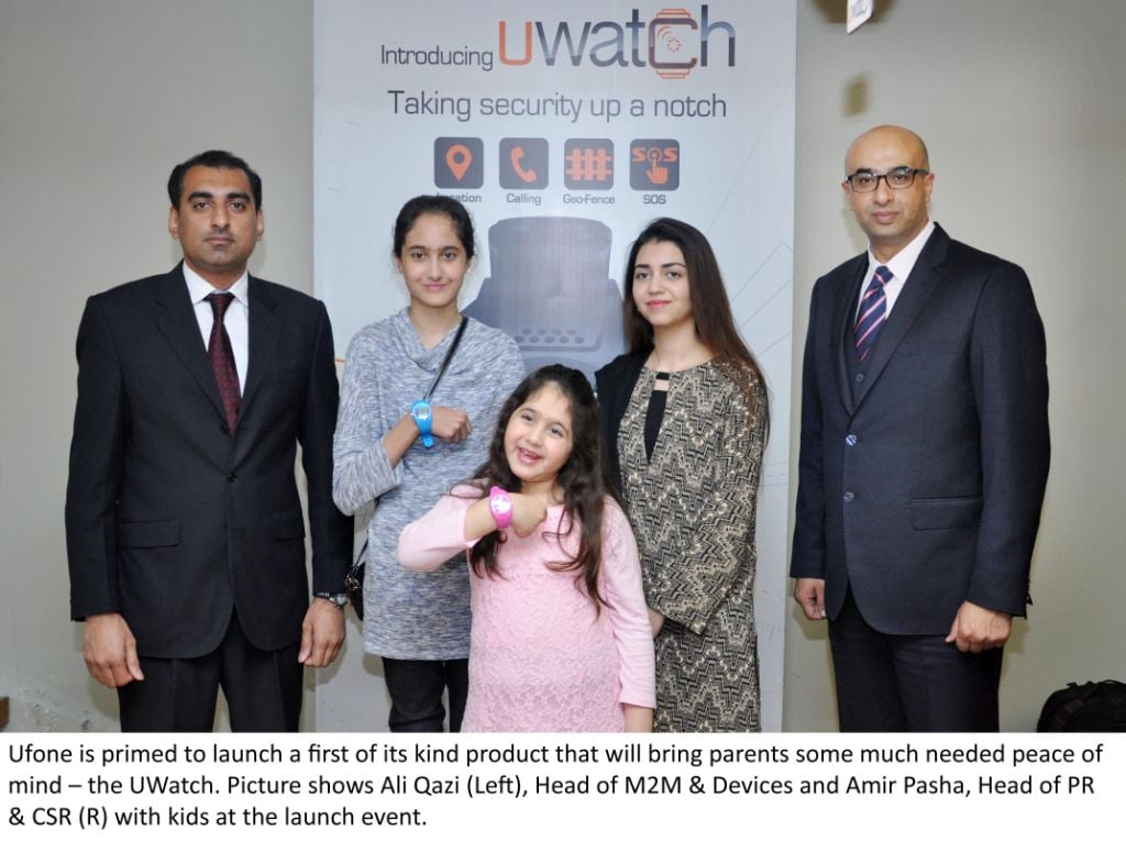 Secure and connected with your Family and Kidz through UWatch