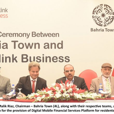 Mobilink goes Digital with Bahria Town – Digital 'Exceleration'