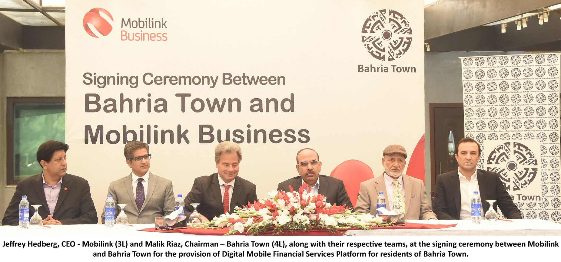 Mobilink goes Digital with Bahria Town - Digital 'Exceleration'