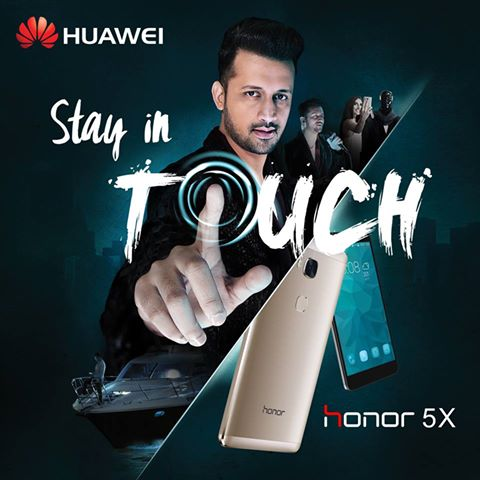 Huawei Appoints Atif Aslam as Brand Ambassador