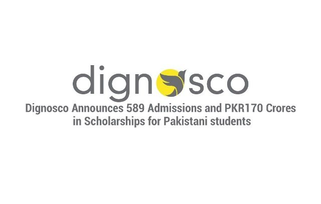 Dignosco Announces 589 Admissions and PKR170 Crores in Scholarships