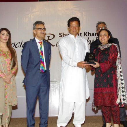 Mobilink Foundation wins its 4th Shaukat Khanum CSR Award
