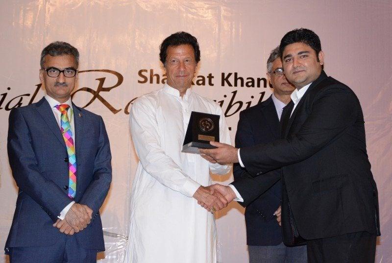 Warid Telecom awarded with prestigious SKMT CSR Award