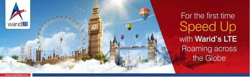 WARID TELECOM TO PROVIDE GLOBAL LTE ROAMING SERVICES