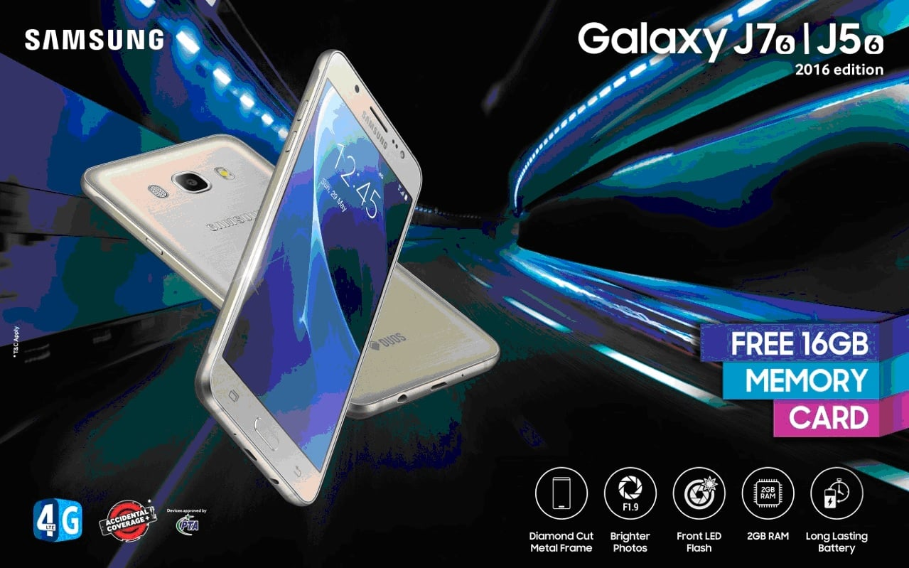 Powerful new 'Galaxy J5 2016' smart phone launched by SamSung