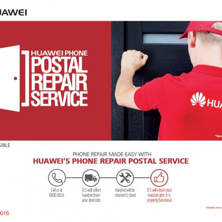 Huawei Launches Phone Postal Repair Service
