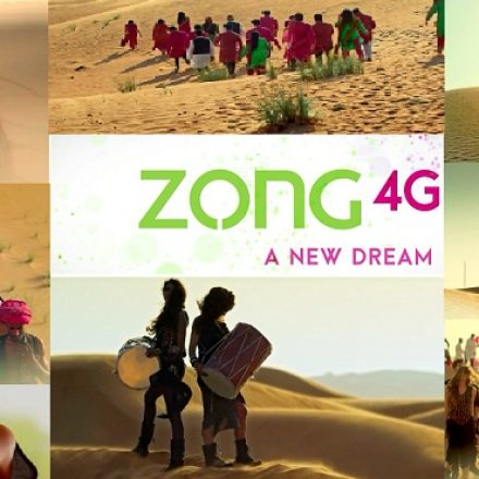 New TVC releases by Zong signifying its data leadership in the Industry
