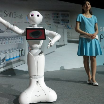 SOFTBANK'S PEPPER ROBOT, NOW LAUNCHED IN TAIWAN!