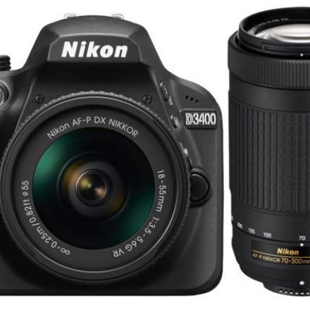 Nikon D3400 Is a Different DSLR