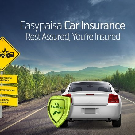 Easypaisa brings the most affordable and accessible Car Insurance policy in Pakistan