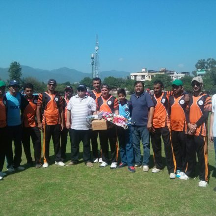 Ministry of IT Cricket Team Won The Match