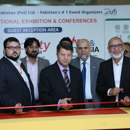 16th ITCN 2016- International IT & Telecom Show Inaugurated by Syed Ismail Shah, Chairman PTA & Syed Arif ullah Hussaini, Commander Fleet Pakistan Navy