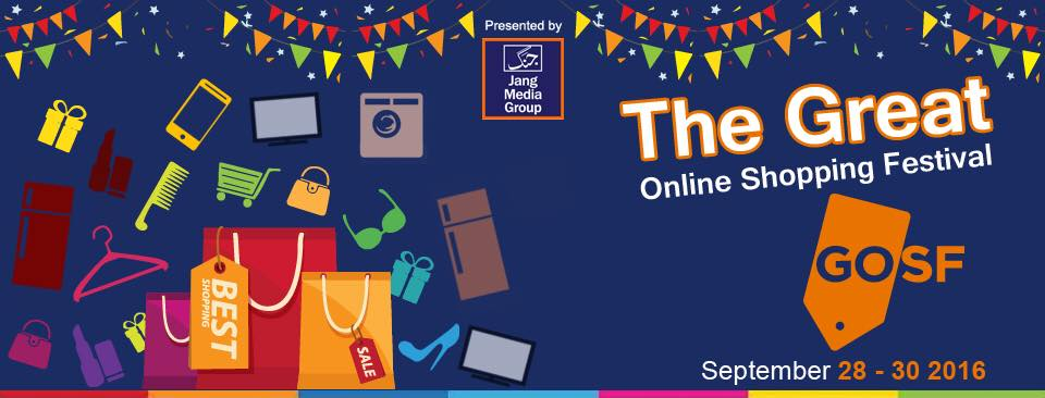 Pakistan's Great Online Shopping Festival 2016 is about to Commence