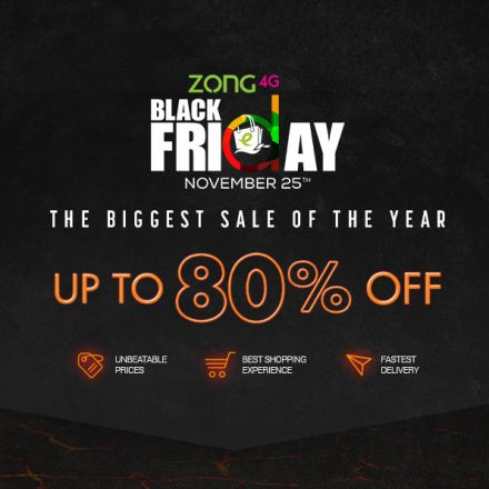 Daraz and Zong all set to create a Digital Revolution with Black Friday 2016