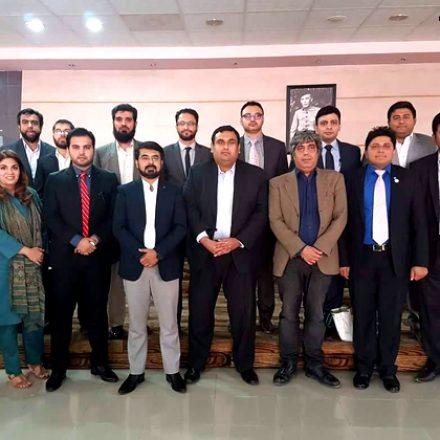 Celebrating Global Entrepreneurship Week at ICCBS, Karachi University
