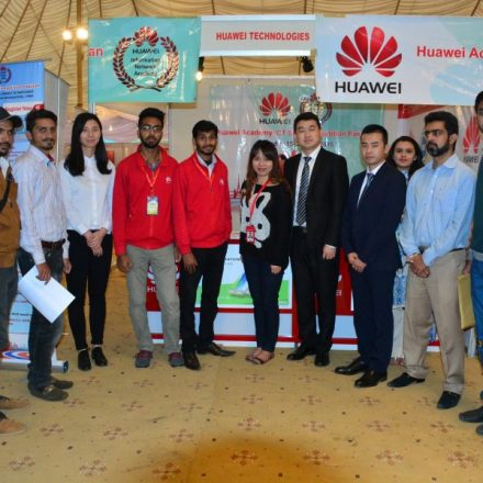 Spotted – Huawei Pakistan at the University of Management & Technology