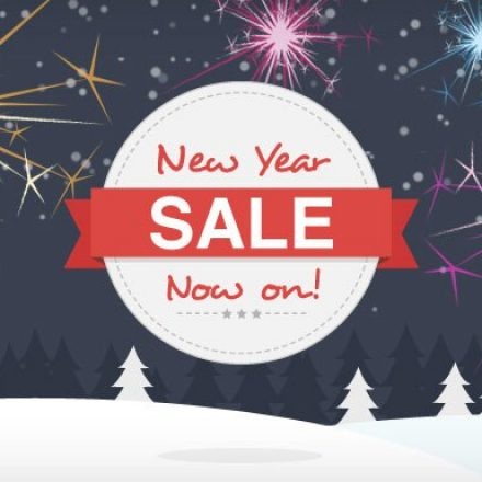 Various Online Stores are offering New Year sales