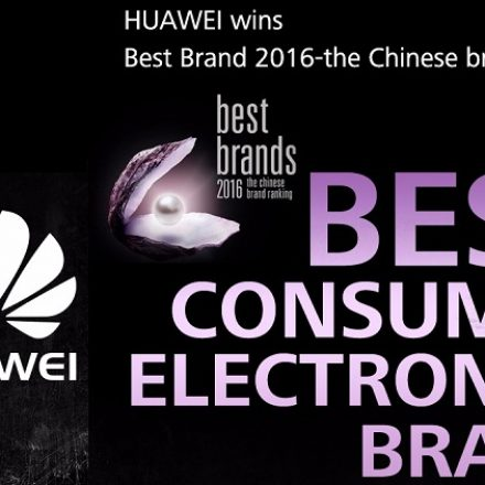 Huawei selected as the best consumer electronics brand