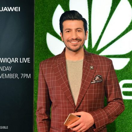 Huawei thrills consumers with celebrity icon – Wiqar Ali Khan
