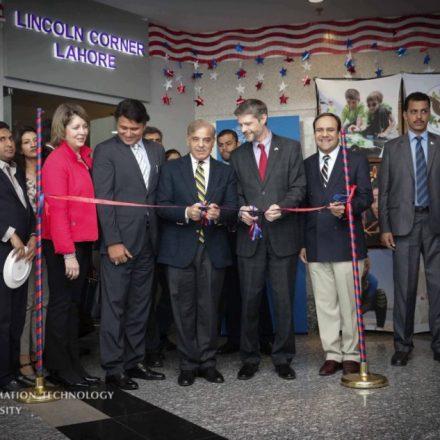 Lincoln Corner established at ITU for Cultural Collaboration