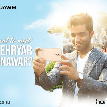 Want to meet Shehryar Munawar? Honor 6X provides a chance