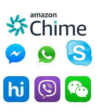 AMAZON CHIME smashing all social sites features