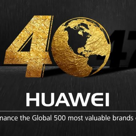 Huawei ranked 40th on the 'Most Valuable Global Brands ' by 'Brand Finance'